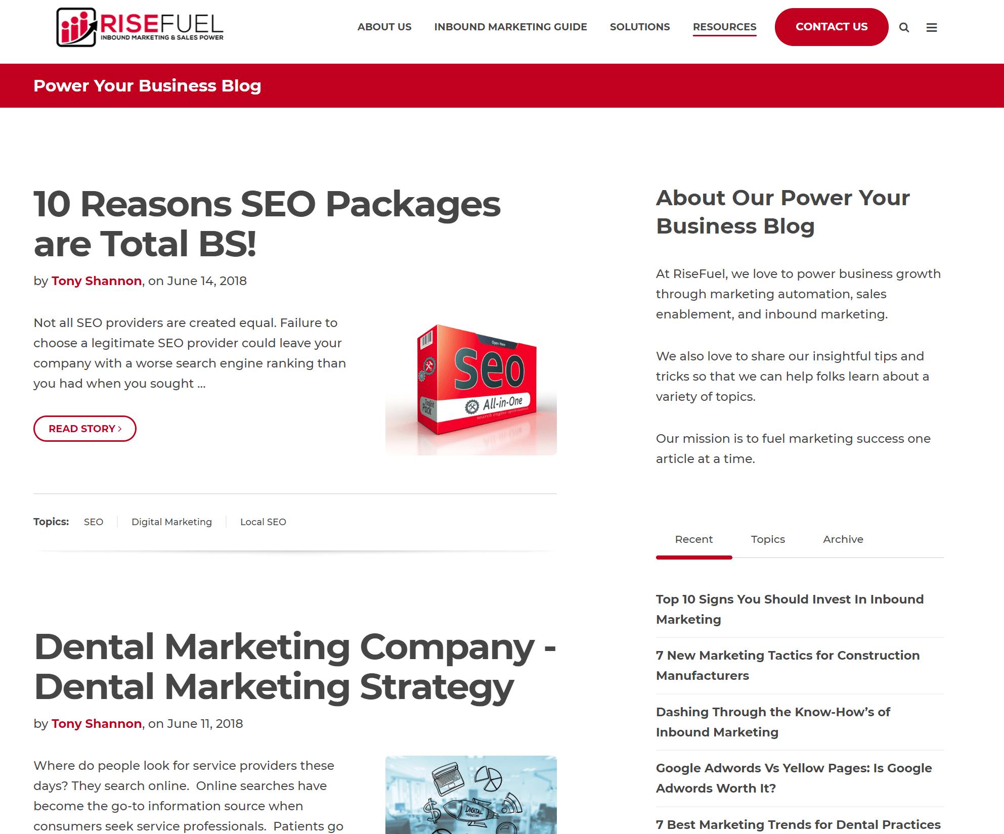 seo websites