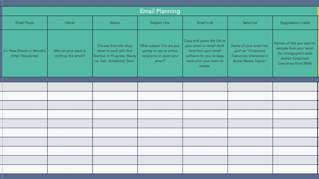 email-marketing-strategy-template