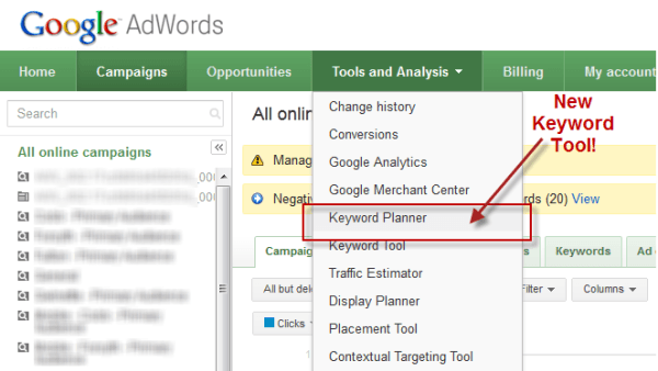 keyword research for small business growth