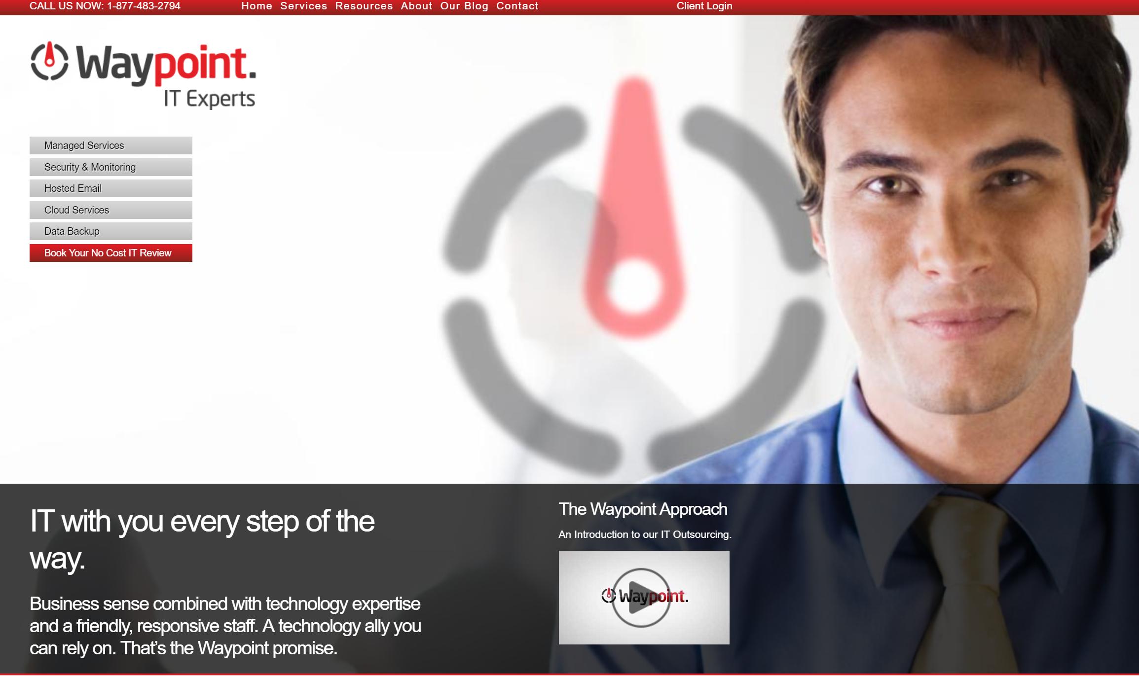 waypoint website